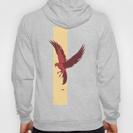 Red Falcon Hoody