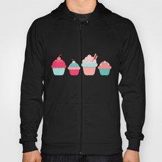 cupcakes colors Hoody