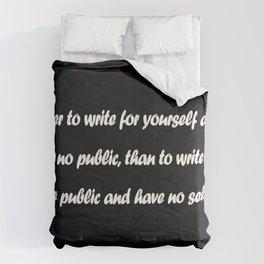 Cyril Connolly Comforters
