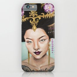 Wu Zetian iPhone Case