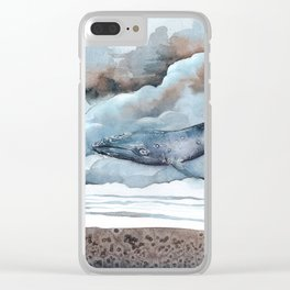 Visitor Clear iPhone Case