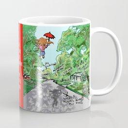 When Girls Fly Coffee Mug