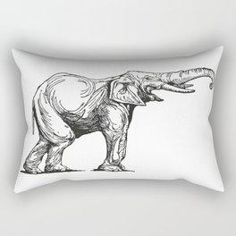 Elephant Elefante Rectangular Pillow