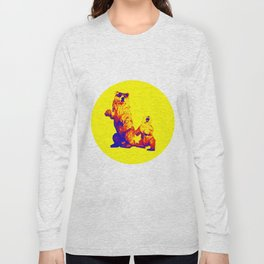 Ours Republique yellow Long Sleeve T-shirt