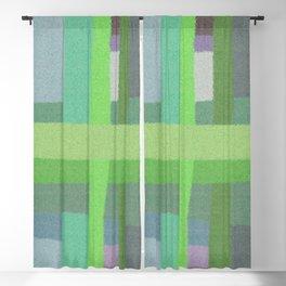 Criss Cross Colors Blackout Curtain