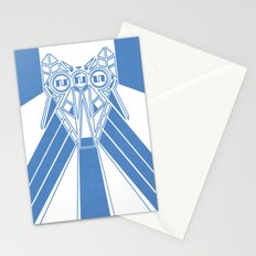 Power Wolf Blue Stationery Cards