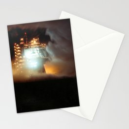 A-1 Test Stand Night Firing Stationery Cards