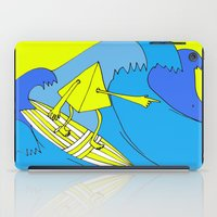surfer iPad Cases featuring Surfer by melanie johnsson