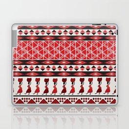 African Tribal Pattern No. 85 Laptop & iPad Skin