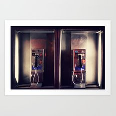 Pay Phone I Art Print