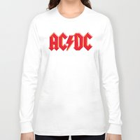 acdc Long Sleeve T-shirts featuring ACDC by loveme