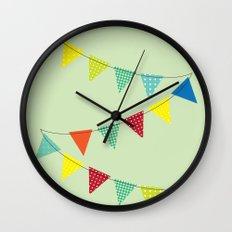 Hurray for boys! Wall Clock