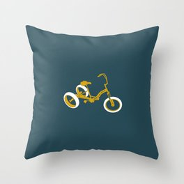 tricycle 01 Throw Pillow