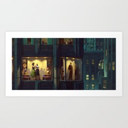 Boutique Display Art Print