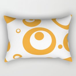 Circles Dots Bubbles :: Marmalade Inverse Rectangular Pillow