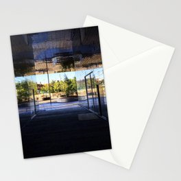 New Area in Morning Light Stationery Cards