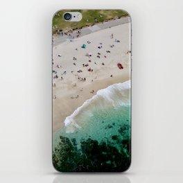 An aerial shot of Bronte Beach in Sydney Australia iPhone Skin