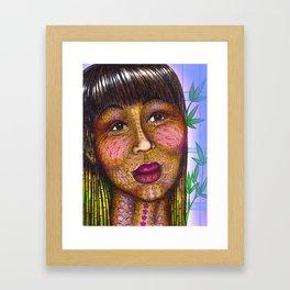 Wisdom Keeper Color #10 (Naturalness) Framed Art Print
