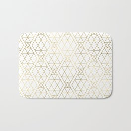 Modern Art Deco Geometric 1 Bath Mat