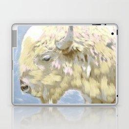 White buffalo calf Laptop & iPad Skin
