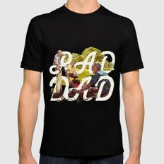 Rad Dad II Mens Fitted Tee X-LARGE Black