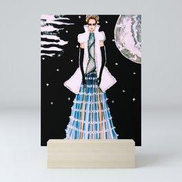 Ethereal Beauty Fashion Illustration By James Thomas Ryan Mini Art Print
