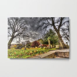 Greyfriars Kirk Church Edinburgh Metal Print