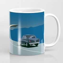 """Soviet Modernism: """"Seagull"""" road mark at the northern entry of Yerevan Coffee Mug"""