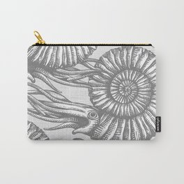 AMMONITE COLLECTION GRAY Carry-All Pouch