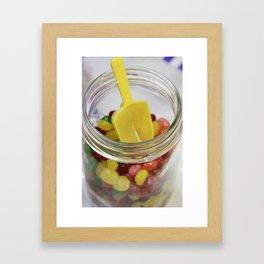 Candy Jar Jellies Framed Art Print