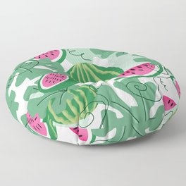 Watermelons Floor Pillow