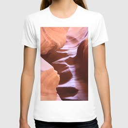 Antelope Colors Abstract Sandstone Waves T-shirt