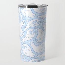 Good Lil' Ghost Gang in Baby Blue Travel Mug