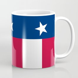 State flag of Texas, banner version Coffee Mug