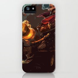 Graves iPhone Case