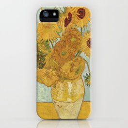 Vincent van Gogh's Sunflowers iPhone Case
