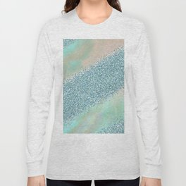 Opal unicorn rainbow Long Sleeve T-shirt
