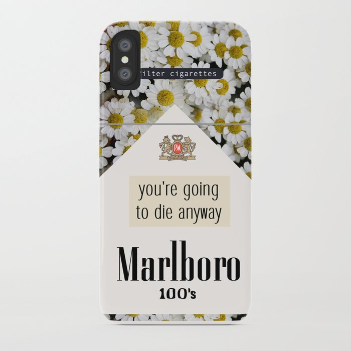 going to die anyway. iPhone Case