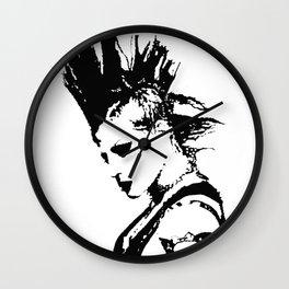 Punk Girl Wall Clock