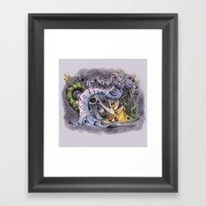 The Forest of Improbable Shapes Framed Art Print