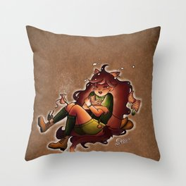 Fallin Throw Pillow