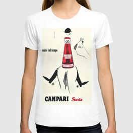 Vintage Cordial Campari Horse Issue Advertisement Poster T-shirt