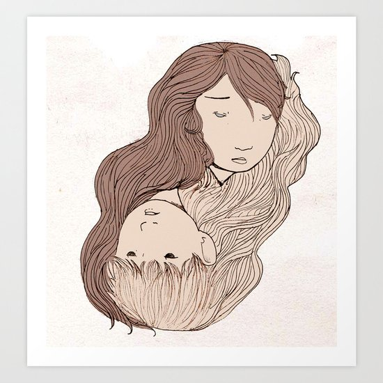 A Muted Mutualism Art Print