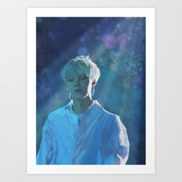 Yoongi Art Print