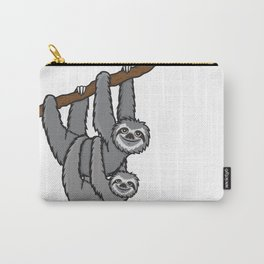 Sloth couple Carry-All Pouch