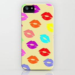 Someone lips iPhone Case