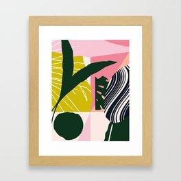 Tropical West Framed Art Print