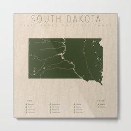 South Dakota Parks Metal Print
