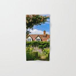 Cottage garden. v2 Hand & Bath Towel