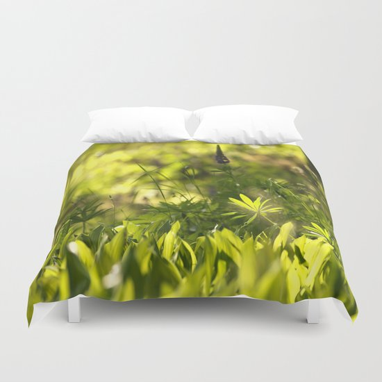 In The Summer Forest  Duvet Cover